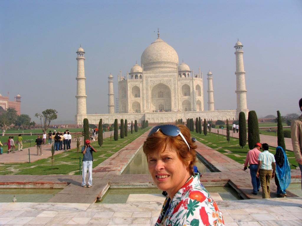 India 2008 Agra Taj Mahal foto mij IMG2752